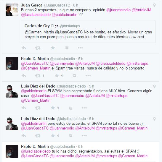 Debate tuiter